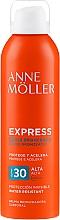 Парфюмерия и Козметика Слънцезащитен спрей за тяло за бърз тен - Anne Moller Express Bruma Body Tanning Spray SPF30