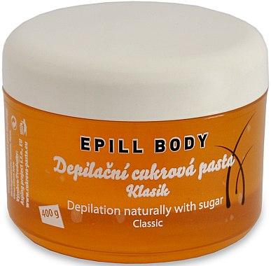 Депилираща захарна паста - Epill Body Depilation Naturally With Sugar Classic — снимка N1