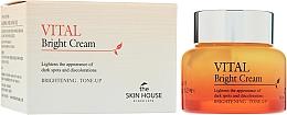 Парфюмерия и Козметика Изглаждащ витаминен крем за лице - The Skin House Vital Bright Cream