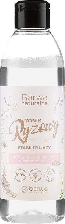 Стабилизиращ подхранващ оризов тоник за лице - Barwa Natural