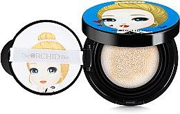 Парфюмерия и Козметика Кушон и гъба за лице - The Orchid Skin Flower Smart Cushion Water Drop SPF50+/PA+++