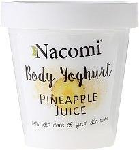 """Парфюми, Парфюмерия, козметика Йогурт за тяло """"Ананас"""" - Nacomi Body Jogurt"""