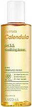 Парфюмерия и Козметика Успокояващ тонер с невен за чувствителна кожа - Missha Su:Nhada Calendula pH 5.5 Soothing Toner