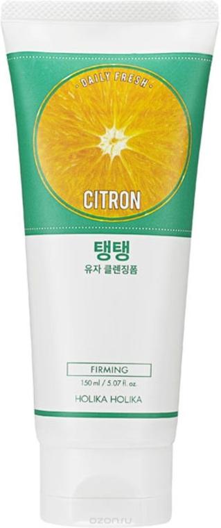 Нежна измиваща пяна за лице с екстракт от цитрон - Holika Holika Daily Fresh Citron Cleansing Foam
