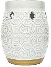 Парфюмерия и Козметика Аромалампи - Yankee Candle Wax Burner Addison Patterned Ceramic