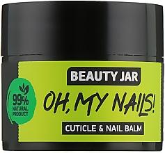 """Парфюмерия и Козметика Балсам за нокти и кутикули """"Oh My Nails!"""" - Beauty Jar Cuticle&Nail Balm"""