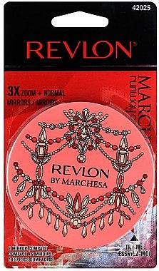 4241856900 Козметично огледало , коралово - Revlon By Marchesa Compact Mirror — снимка  N1