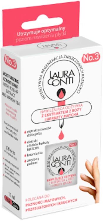 Хидратиращ балсам за нокти с екстракт от роза и май матча - Laura Conti