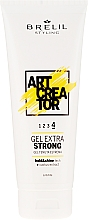 Парфюмерия и Козметика Гел за коса с екстра силна фиксация - Brelil Art Creator Gel Extra Strong