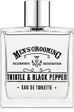 Парфюмерия и Козметика Scottish Fine Soaps Men's Grooming Thistle & Black Pepper - Тоалетна вода