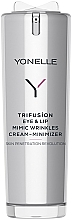 Парфюмерия и Козметика Крем за минимизиране на мимически бръчки около очите и устните - Yonelle Trifusion Eye & Lip Mimic Wrinkles Cream-Minimizer