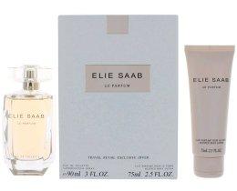Парфюми, Парфюмерия, козметика Elie Saab Le Parfum - Комплект (edt/90ml + b/lot/75ml)