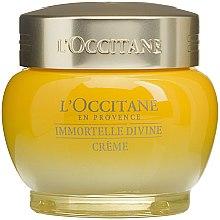 Парфюми, Парфюмерия, козметика Крем за лице с безсмъртниче - L'occitane Immortelle Divine Moisturizer Cream