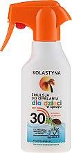 Парфюмерия и Козметика Слънцезащитен спрей за деца - Kolastyna Suncare for Kids Spray SPF 30