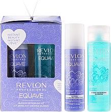 Парфюми, Парфюмерия, козметика Комплект за лесно разресване шампоан и балсам - Revlon Professional Equave Blonde Set (shm/250ml + cond/200ml)