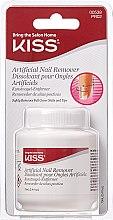 Парфюмерия и Козметика Препарат за премахване на изкуствени нокти - Kiss Artificial Nail Remover