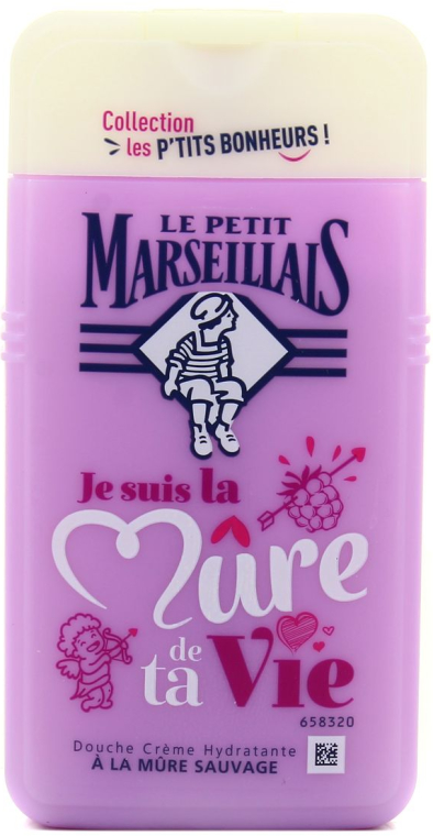 """Душ гел """"Къпина"""" - Le Petit Marseillais Blackberry Shower Gel — снимка N1"""