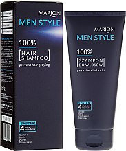 Парфюмерия и Козметика Шампоан за мъже - Marion Men Style Shampoo Against Greying