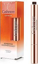 Парфюми, Парфюмерия, козметика Изсветляващ коректор за лице - Dax Cashmere Corrector Highlighting Concealer