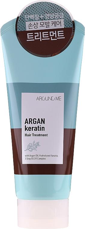 Маска за коса с екстракт от грозде и лавандулово масло - Welcos Around Me Argan Keratin Hair Treatment