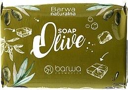 Парфюми, Парфюмерия, козметика Сапун с екстракт от маслини и шийтаке - Barwa Natural Soap Green Olive Soap