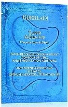 Парфюмерия и Козметика Пачове-маска за очи - Guerlain Super Aqua-Eye Anti-Puffness Smoothing Eye Patch