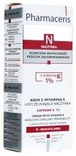Парфюмерия и Козметика Подхранващ крем против бръчки с витамин К - Pharmaceris N Capinon K 1% Cream With Vitamin K