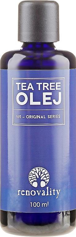 Масло от чаено дърво за лице и тяло - Renovality Original Series Tea Tree Oil — снимка N1
