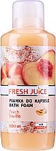 Парфюмерия и Козметика Пяна за вана с аромат на прасковено суфле - Fresh Juice Pach Souffle