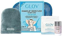 Парфюмерия и Козметика Комплект - Glov Expert Travel Set Dry Skin (glove/mini/1pcs + glove/1pcs + stick/40g)