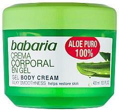 Парфюми, Парфюмерия, козметика Натурален възстановяващ гел за тяло - Babaria Aloe Vera