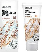 Парфюмерия и Козметика Почистваща пяна за лице с ориз - Lebelage Rice Cleansing Foam