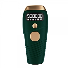 Парфюмерия и Козметика Лазерен епилатор, W-1092, зелен - Deni Carte Laser Hair Removal IPL