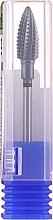 Парфюмерия и Козметика Твърдосплавна фреза (карбон), царевица, 6 мм, черна - Head The Beauty Tools