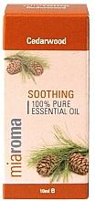 """Парфюмерия и Козметика Етерично масло """"Кедър"""" - Holland & Barrett Miaroma Cedarwood Pure Essential Oil"""