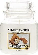 Парфюмерия и Козметика Свещ в стъклено бурканче - Yankee Candle Soft Blanket