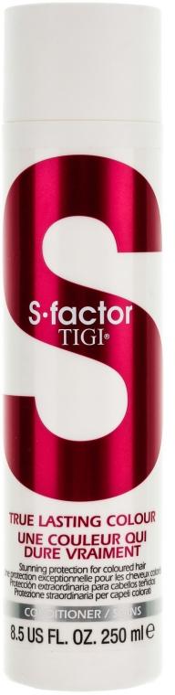 Изглаждащ балсам за боядисана коса - Tigi True Lasting Colour Conditioner — снимка N1