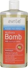 Парфюмерия и Козметика Овлажняващ душ гел - Evree Multioils Bomb Body Oil