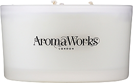 """Парфюмерия и Козметика Ароматна свещ """"Спокойствие"""" с 3 фитила - AromaWorks Serenity Candle 3-wick"""