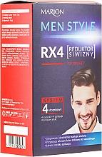 Парфюмерия и Козметика Мъжка боя за коса - Marion Men Style 4 Steps Grey Hair Reducer
