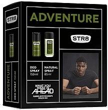 Парфюми, Парфюмерия, козметика STR8 Adventure - Комплект (спрей за тяло/85ml + дезодорант/150ml)