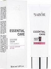 Парфюмерия и Козметика Крем за чувствителна кожа - Babor Essential Care Sensitive Cream
