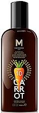 Парфюми, Парфюмерия, козметика Масло за тен - Mediterraneo Sun Carrot Suntan Oil Dark Tanning SPF10