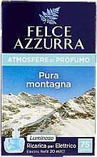 Парфюмерия и Козметика Пълнител за електрически дифузер - Felce Azzurra Pure Montain