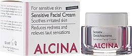 Парфюми, Парфюмерия, козметика Крем за чувствителна кожа на лицето - Alcina S Sensitive Facial Cream