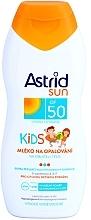 Детско слънцезащитно мляко - Astrid Sun Kids Milk SPF 50 — снимка N2