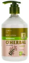 Парфюми, Парфюмерия, козметика Освежаващ лосион за тяло с екстракт от вербена - O'Herbal Refreshing Lotion
