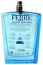 Gianfranco Ferre Acqua Azzurra - Тоалетна вода (тестер без капачка)  — снимка N1