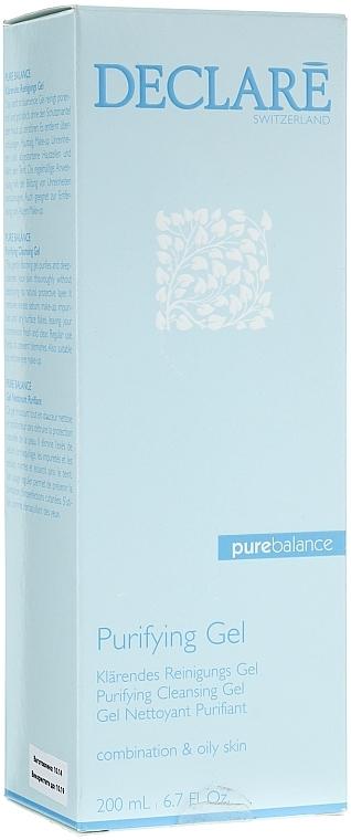 Гел за измиване на лицето - Declare Purifying Cleansing Gel — снимка N1