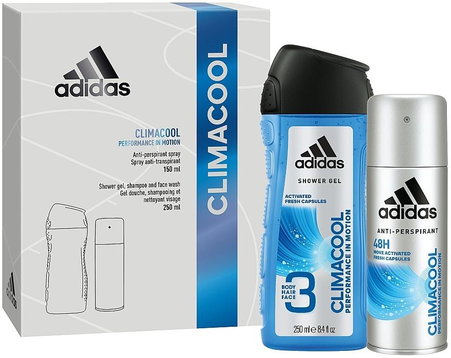 Комплект - Adidas Climacool Men (део/150ml + душ гел/250ml) — снимка N1